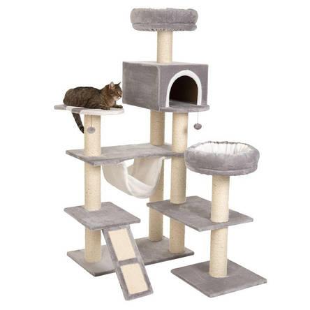 Игровой комплекс для котов Big house с домиком для кошки и когтеточкой, фото 2