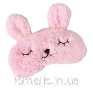 Маска для сна с гелевым вкладышем, розовая