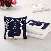 Подушка-одеяло SUNROZ Blanket Pillow 2 в 1 40х40 / 110х150 Стиль 10 (SUN5666)
