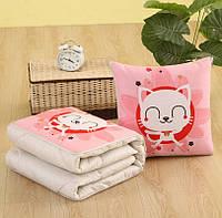 Подушка-одеяло SUNROZ Blanket Pillow 2 в 1 40х40 / 110х150 Стиль 11 (SUN5667)
