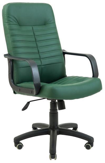 Кресло Вегас пластик 1 кат зеленое