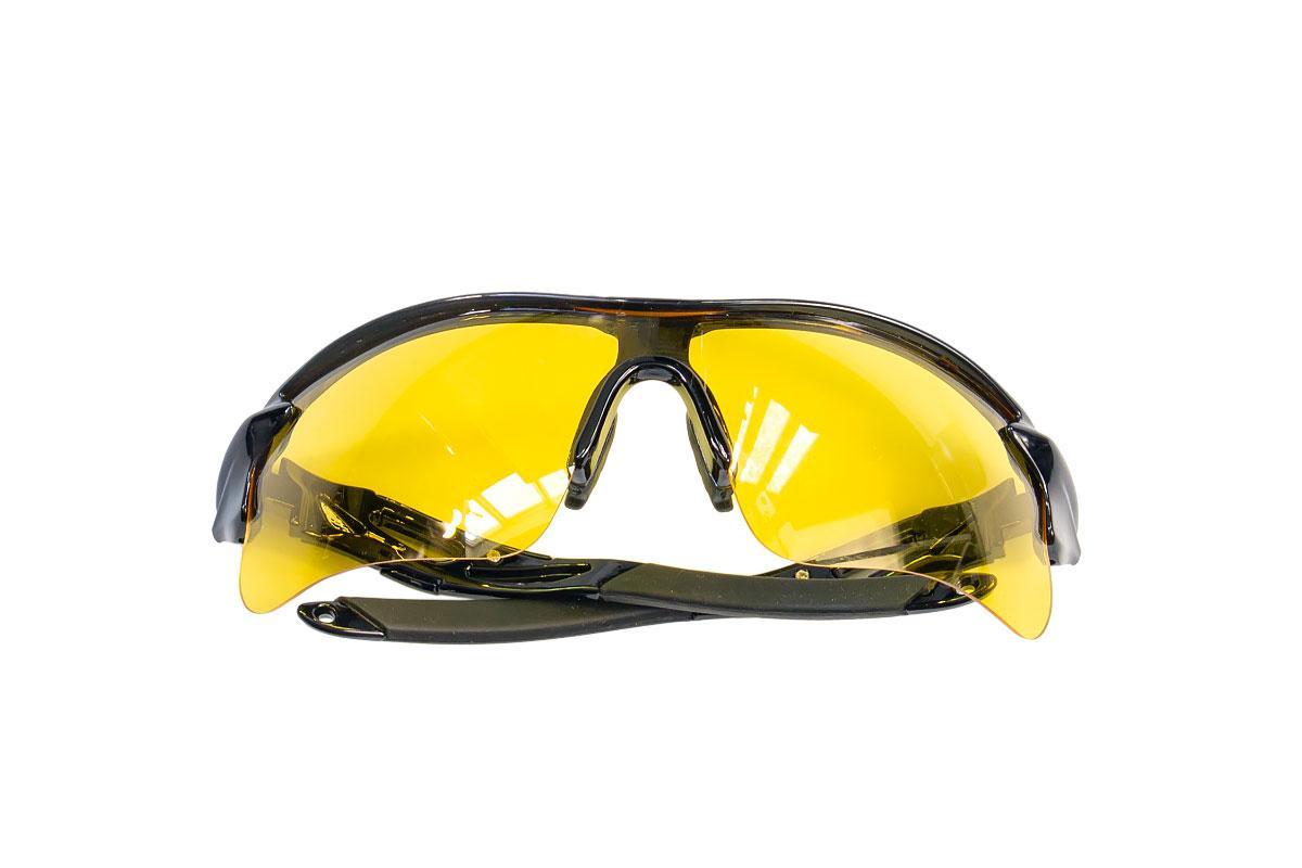 Очки защитные противоосколочные желтые