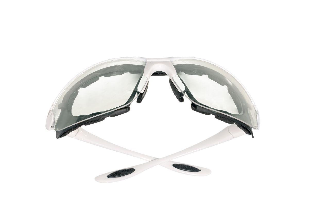 Очки защитные прозрачные, обрезиненые
