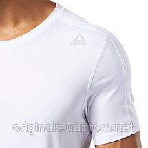 Мужская футболка Reebok Workout DZ4714, фото 3