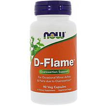"Обезболивающий комплекс NOW Foods ""D-Flame"" (90 капсул)"