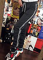 """Теплые женские штаны на флисе """"Люрекс серебро"""", фото 1"""