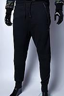 Спортивные штаны мужские трикотажные манжет GS 636488 черные