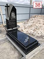 Памятник базальт граніт чорний