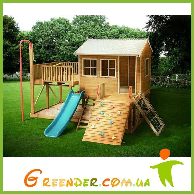 Уличные игровые деревянные комплексы для детей The New Explorer Pack