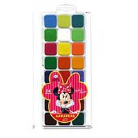 Краски акварельные Minnie Mouse 24 цвета