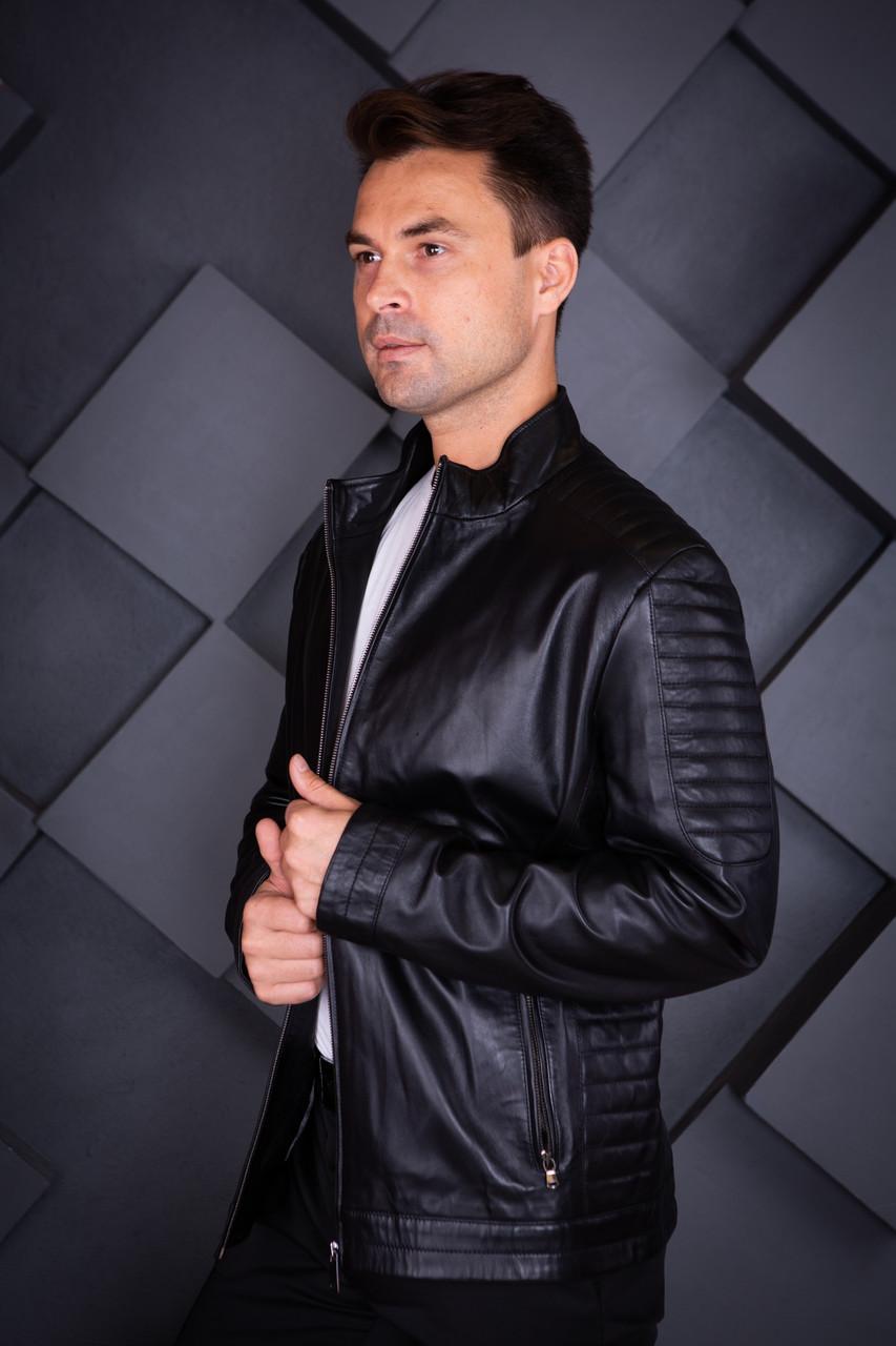 Куртка кожаная Oscar Fur 454 Черный