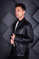 Куртка кожаная Oscar Fur 454 Черный, фото 1