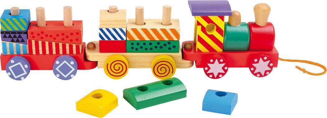 Детский деревянный поезд Small Foot 3498