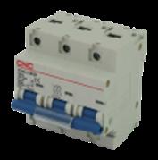 Модульний автоматичний вимикач YCB1-125 3Р, 125А, 6kA, тип D