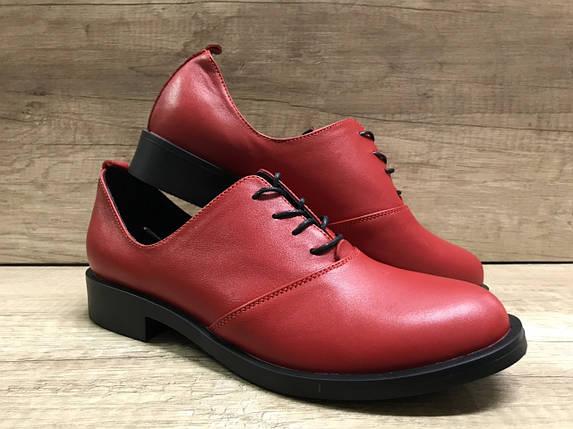 НОВИНКА!  женские туфли из натуральной кожи Лима  5 VIKTTORIO, фото 2