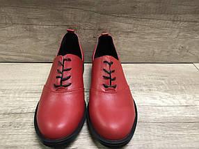 НОВИНКА!  женские туфли из натуральной кожи Лима  5 VIKTTORIO, фото 3