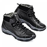 Ботинки мужские  из натуральной кожи от производителя модель МАК945, фото 3