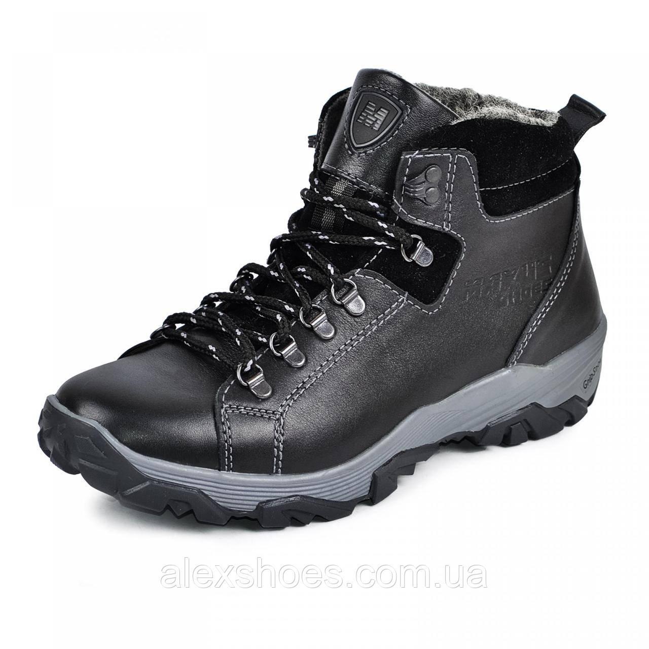 Ботинки мужские  из натуральной кожи от производителя модель МАК945