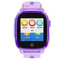 Детские Умные часы с GPS видеозвонком и 4G DF33 фиолетовые, фото 2