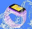Детские Умные часы с GPS видеозвонком и 4G DF33 фиолетовые, фото 4