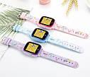 Детские Умные часы с GPS видеозвонком и 4G DF33 фиолетовые, фото 5