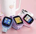 Детские Умные часы с GPS видеозвонком и 4G DF33 фиолетовые, фото 6