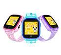 Детские Умные часы с GPS видеозвонком и 4G DF33 фиолетовые, фото 7