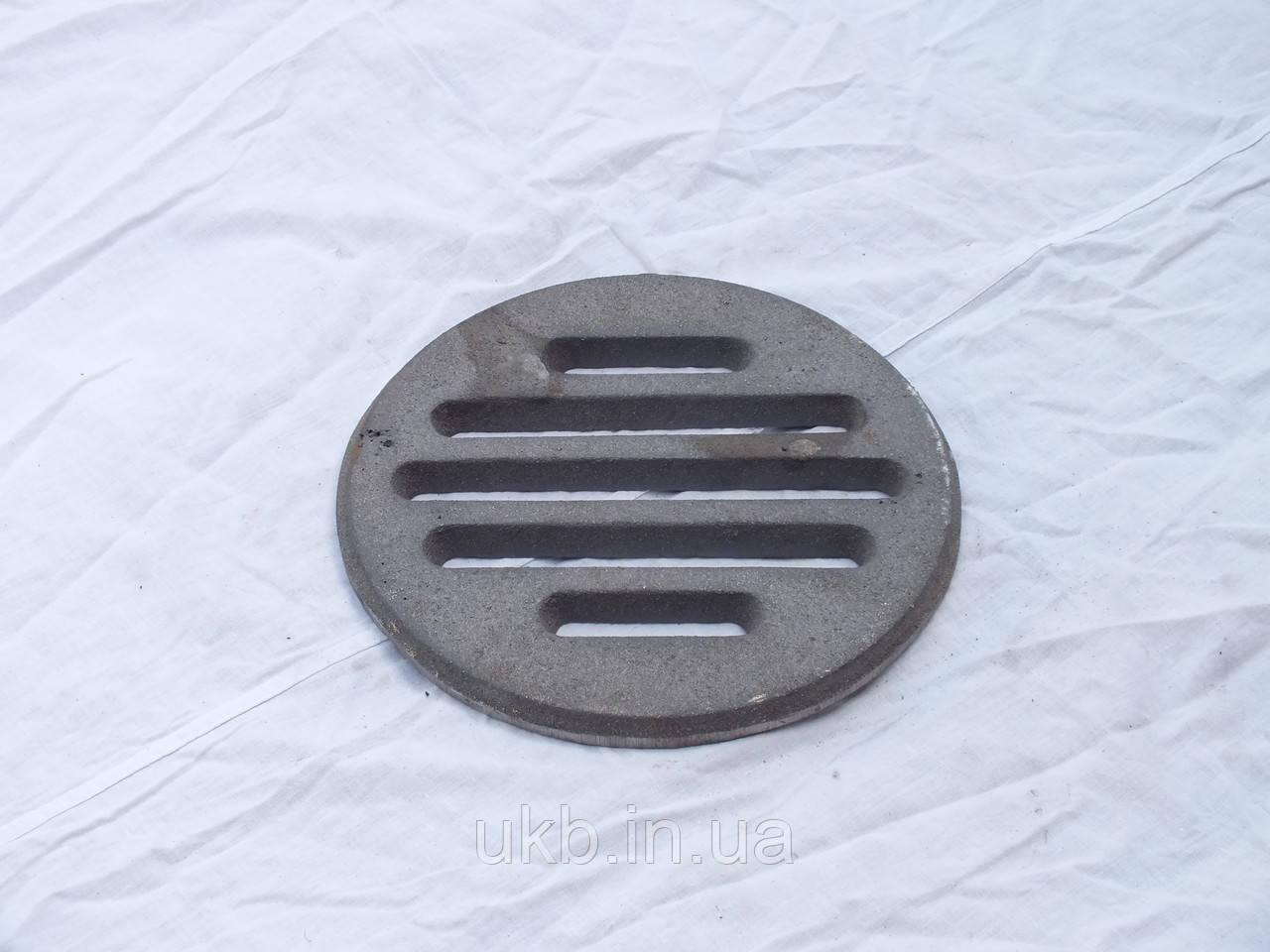 Колосниковая решетка круглая 240 мм (3,5кг)