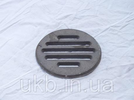 Колосниковая решетка круглая 240 мм (3,5кг), фото 2