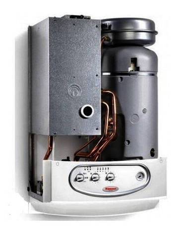 Двухконтурный газовый котел с бойлером Immergas Zeus 28 kW турбированный, фото 2