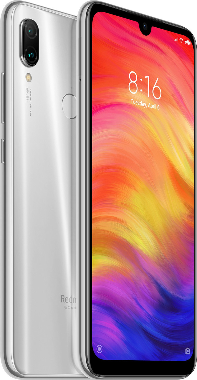 Смартфон Xiaomi Redmi Note 7 4/64GB Moonlight White