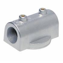 Алюминиевый адаптер для фильтров тонкой очистки 200-й серии 1' BSP (до 65 л/мин) CIM-TEK