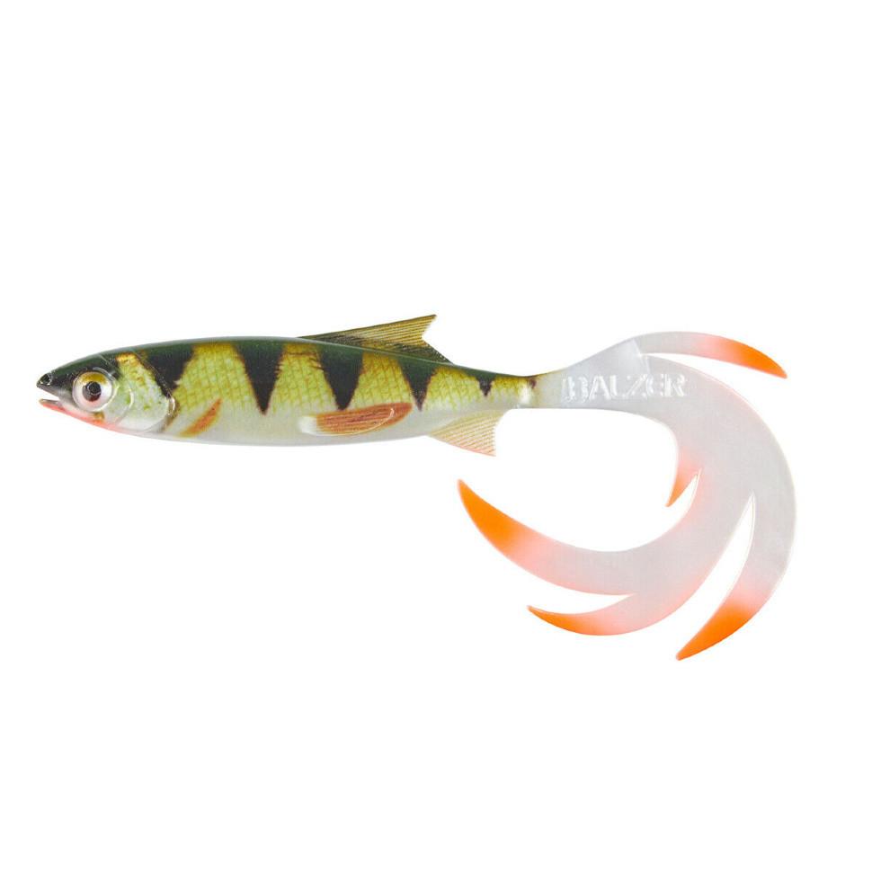 Balzer Shirasu Reptile Shad 7см 1шт. цвет- Perch (13673 207)