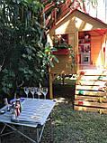 Спортивно игровая детская площадка на улицу с горкой Oscar Cubby House - Yellow, фото 9