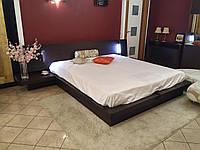 Кровать DOLMEN с коробом для белья и встроенной подсветкой ( Италия - Tomasella ) 61515