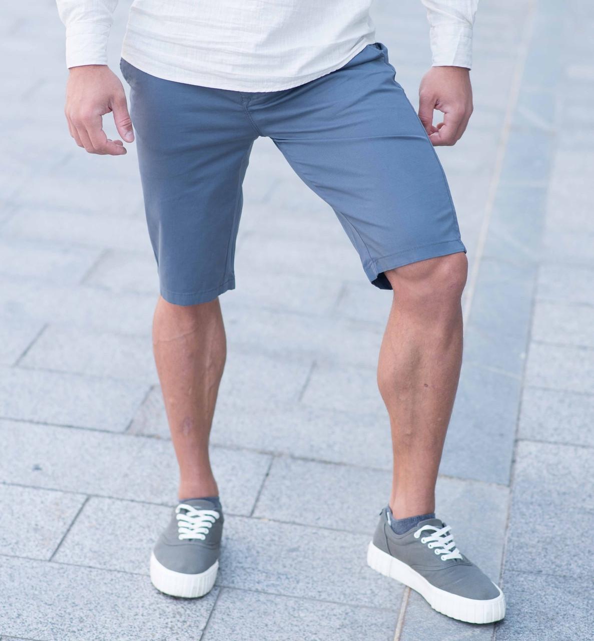 Шорты мужские - брендовые Томми синий