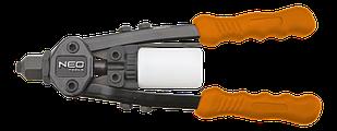 Заклепочник торцевій дворучний NEO Tools 18-107