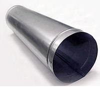 Труба d 120 длина 1 м из оцинкованной стали
