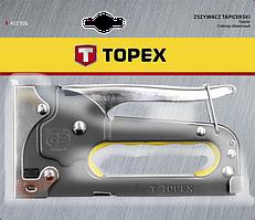 Степлер 6-8мм скобы J TOPEX 41E903