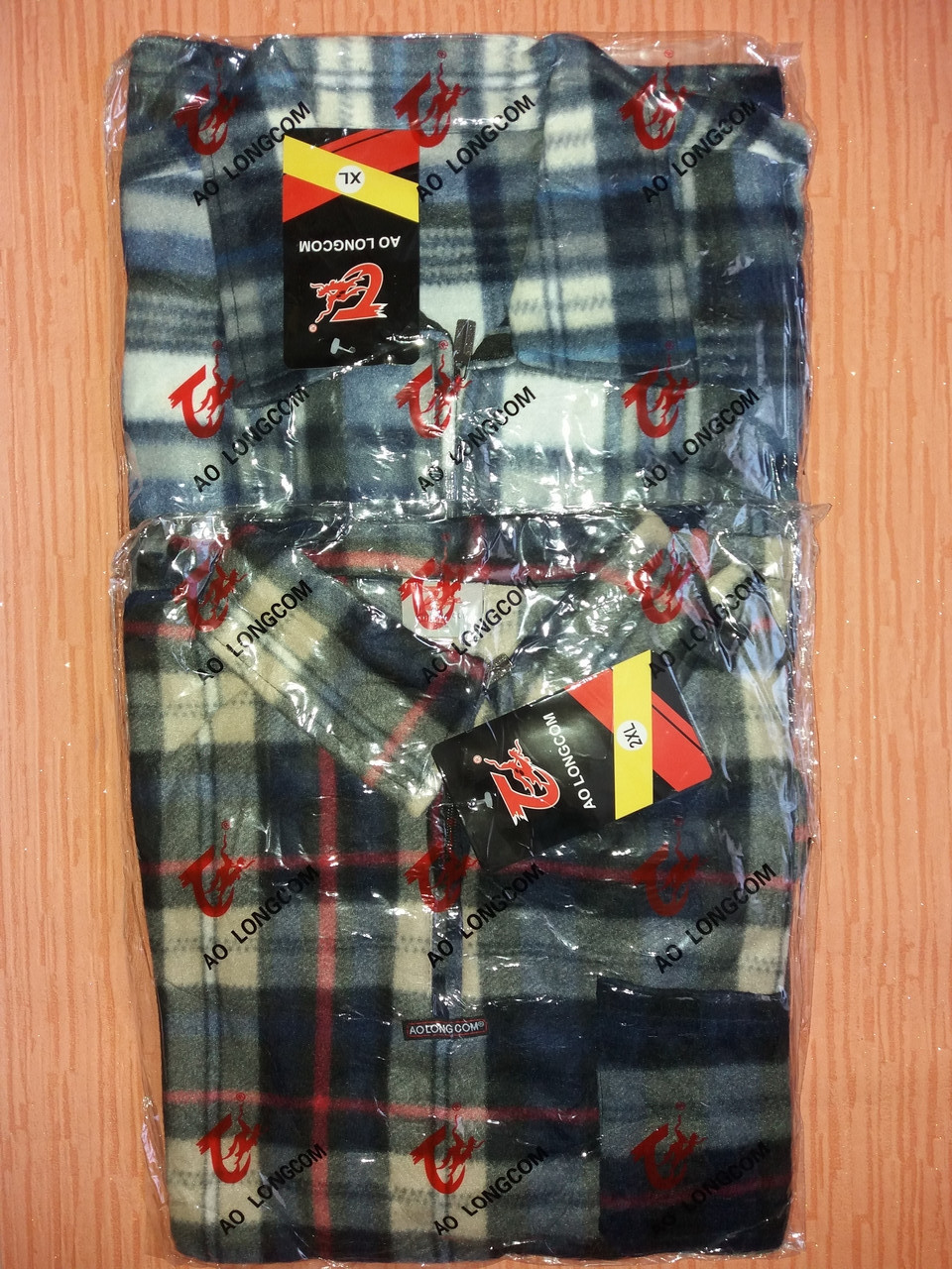 Рубашки мужские на молнии флис в клетку теплые р.52,54,56,58,60. От 5шт по 109грн.