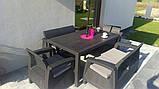 Комплект садовой мебели Curver Corfu Fiesta, фото 6
