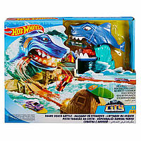 Игровой набор Hot Wheels Побег от акулы (FNB21)
