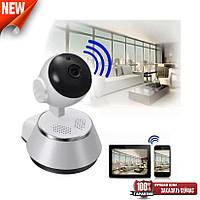Поворотная Видеокамера Wi-Fi Q6 Smart NET camera c двумя антеннами V380