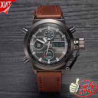 Наручные часы AMST WATCH (коричневые)