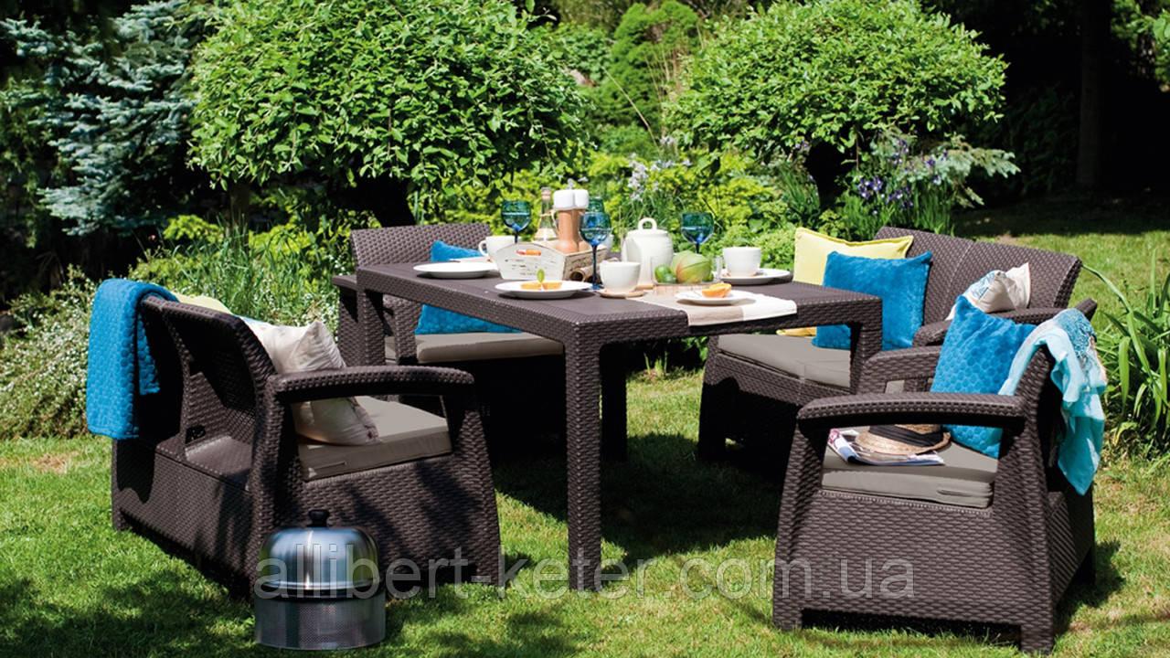 Комплект садових меблів Curver Corfu Fiesta
