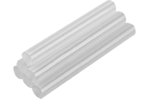 Стержні клейові прозорі 11мм 6шт TopTools 42E110