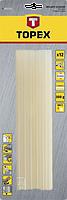 Стержні клейові жовті 11мм 12шт TOPEX 42E171