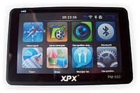 GPS навігатор + регістратор XPX PM-550 DVR