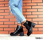 Женские ботинки в черном цвете, из натуральной кожи  39 40 ПОСЛЕДНИЕ РАЗМЕРЫ, фото 2