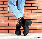 Женские ботинки в черном цвете, из натуральной кожи  39 40 ПОСЛЕДНИЕ РАЗМЕРЫ, фото 4